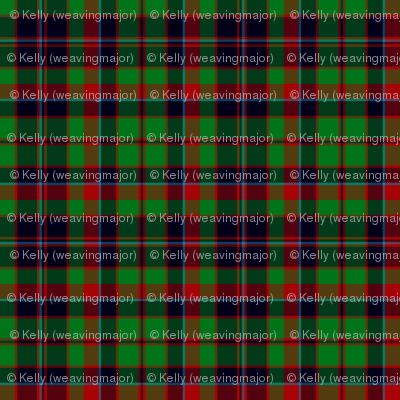 "Buchan or Cumming / Comyn hunting tartan, 12"""