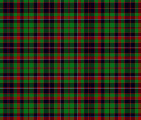 "Buchan or Cumming / Comyn hunting tartan, 12"" fabric by weavingmajor on Spoonflower - custom fabric"