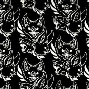 Ornate Bats (Black)