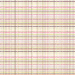 Tea Party Pink Plaid