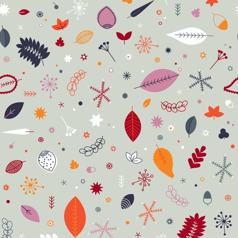 Fall Chaos fabric by polita on Spoonflower - custom fabric