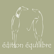 Les deux, sighthounds, white, green