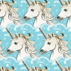 unicorns turquoise