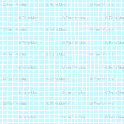 Baby Blue Grid