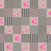 Roses_plaid_gray_wholecloth_quilt_top_shop_thumb