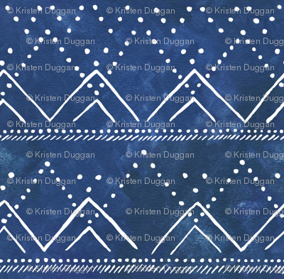 Celestial Mountains Geometric
