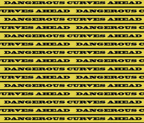 Fair Warning fabric by whimzwhirled on Spoonflower - custom fabric
