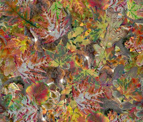 Fallen fabric by enid_a on Spoonflower - custom fabric