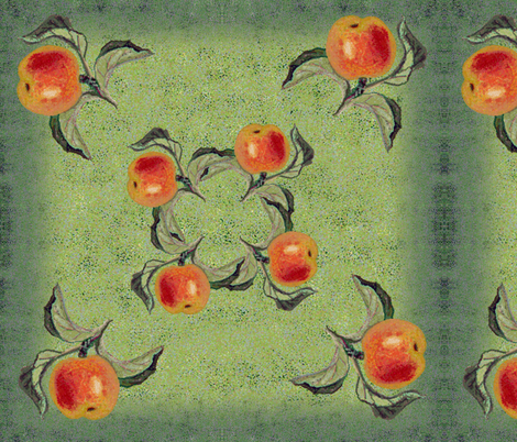 my_apple_dots6 fabric by snarets on Spoonflower - custom fabric