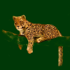 Custom Jaguar for Pillows