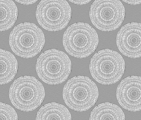 Graphite Doodle fabric by threadconnections on Spoonflower - custom fabric