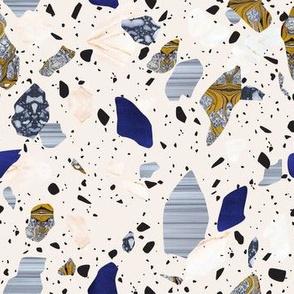 Cream Terrazzo pattern