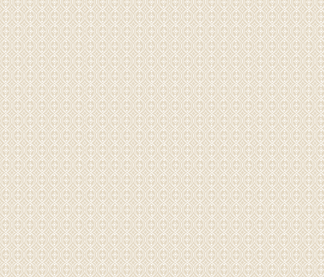 Beige Taupe White Geometric Scroll fabric by phyllisdobbs on Spoonflower - custom fabric