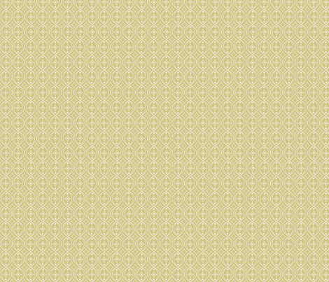 Olive Green Taupe Geometric Scroll fabric by phyllisdobbs on Spoonflower - custom fabric