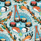 Plain Rice Kawaii Sushi