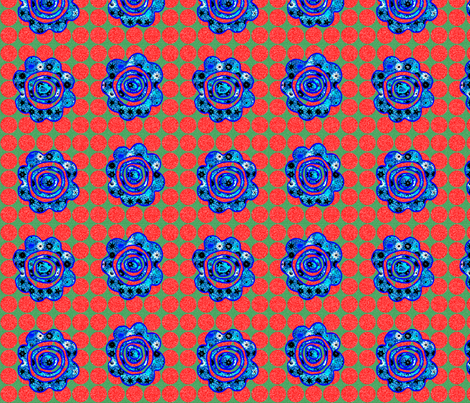 Flower-Power-3 fabric by kiwi_krafter on Spoonflower - custom fabric