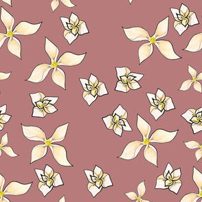 Magnolia's Mauve Background