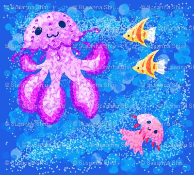 spoonflower_pointilism_jellyfish