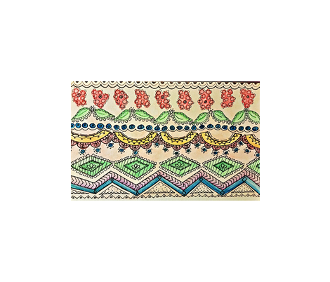 Gypsy Flower fabric by saysaystitches on Spoonflower - custom fabric