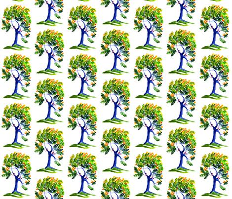 Lintupuu fabric by hot_office on Spoonflower - custom fabric