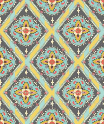 Bohemian Tile - Yellow
