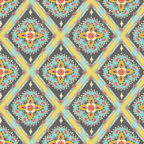Bohemian Tile - Yellow