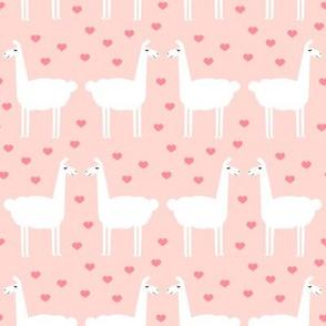 llama love - rose