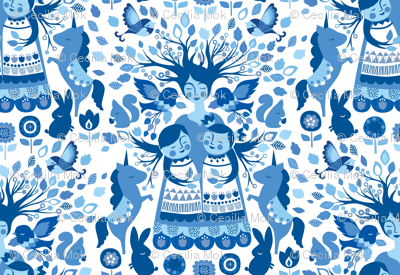 The Mother Tree {Folk Blue}