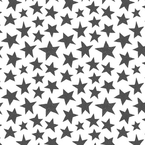 Doodle Stars on White