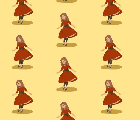 A Gentlewoman fabric by majoranthegeek on Spoonflower - custom fabric
