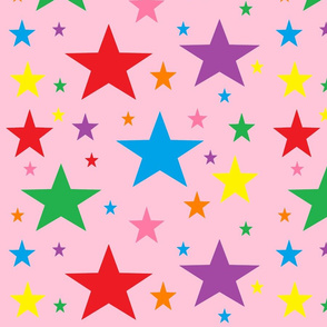 Rainbow_Stars_on_Light_Pink