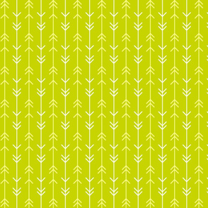 Arrow Lines on Green