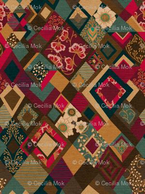Bohemian Tapestry {Velvet}