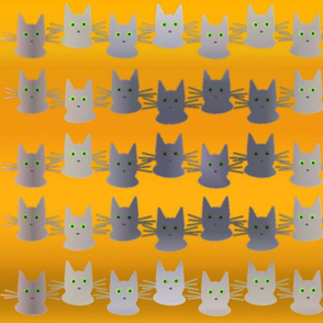 Ghostly Cats