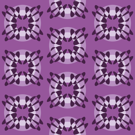Twisted Purple fabric by spratlydesign on Spoonflower - custom fabric