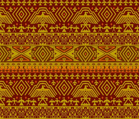Tribal-pattern-orange_shop_preview