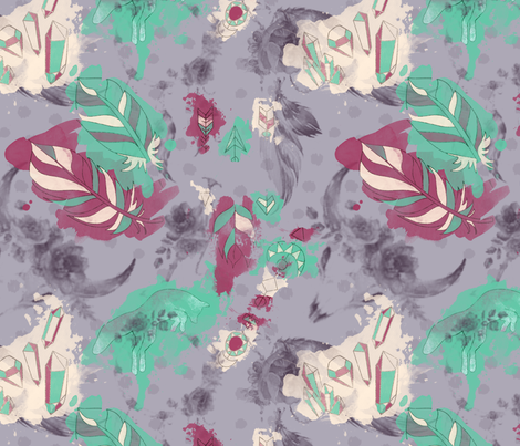 bohofabric fabric by brittemily on Spoonflower - custom fabric