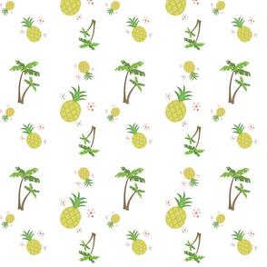 Pineapple Palm Around
