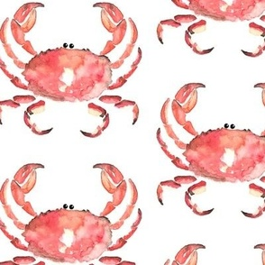 Crab Red Nautical Animal