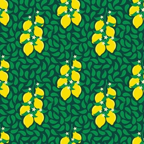 Lemon And Leaves