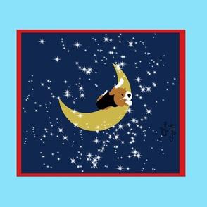 Sleepytown Beagles, Beagle in the moon