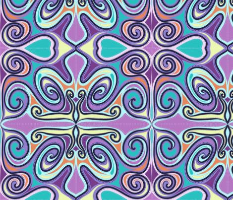 Boho Dream fabric by cathiedesigns on Spoonflower - custom fabric