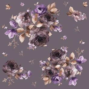 """21"""" Province Blush - Muted Purple"""