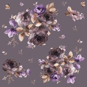 """8"""" Province Blush - Muted Purple"""