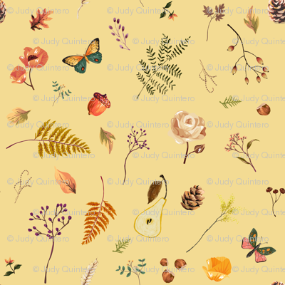 """8"""" Woodland Collection - Yellow"""