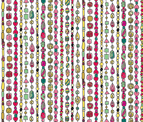 gipsy_curtain fabric by lisahilda on Spoonflower - custom fabric