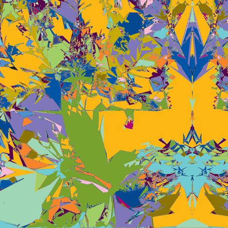 Mood Indigo at High Noon fabric by susaninparis on Spoonflower - custom fabric