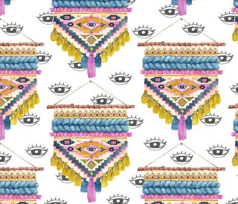Rrboho_woven_rag_eyes_bw_sat_grid_repeat_shop_preview