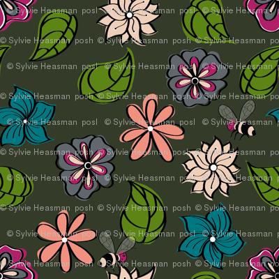 Bohemian_flower_field_cool colours.