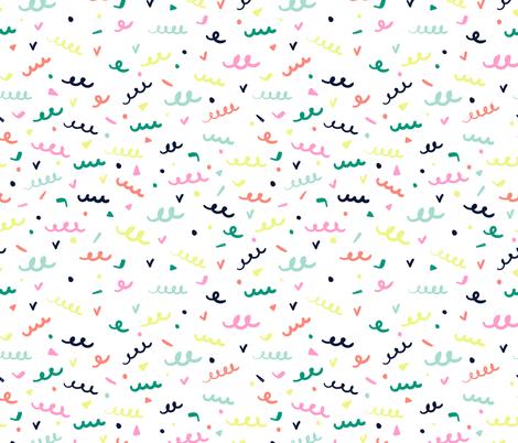 Memphis Confetti fabric by shelbyallison on Spoonflower - custom fabric